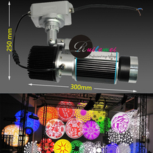 Professional 30W LED Gobo Projector Customized Promotional Wedding Gifts Custom Good Adv Advertising Image Projection Lamp Light(China)
