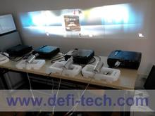 DefiLabs DEFI 4 screen Interactive floor system support 4 projectors including Edge Blending setting 16 effects