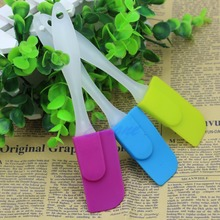 Silicone Spatula Baking Scraper Butter Mixer Cooking Cake Kitchen Utensil 1Pcs good quality