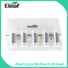 Buy Big sale!!! Original 100% Eleaf LYCHE NC/Dual 0.25ohm Head Lyche Atomizer Tank Electronic Cigarette Vape Coil for $5.00 in AliExpress store