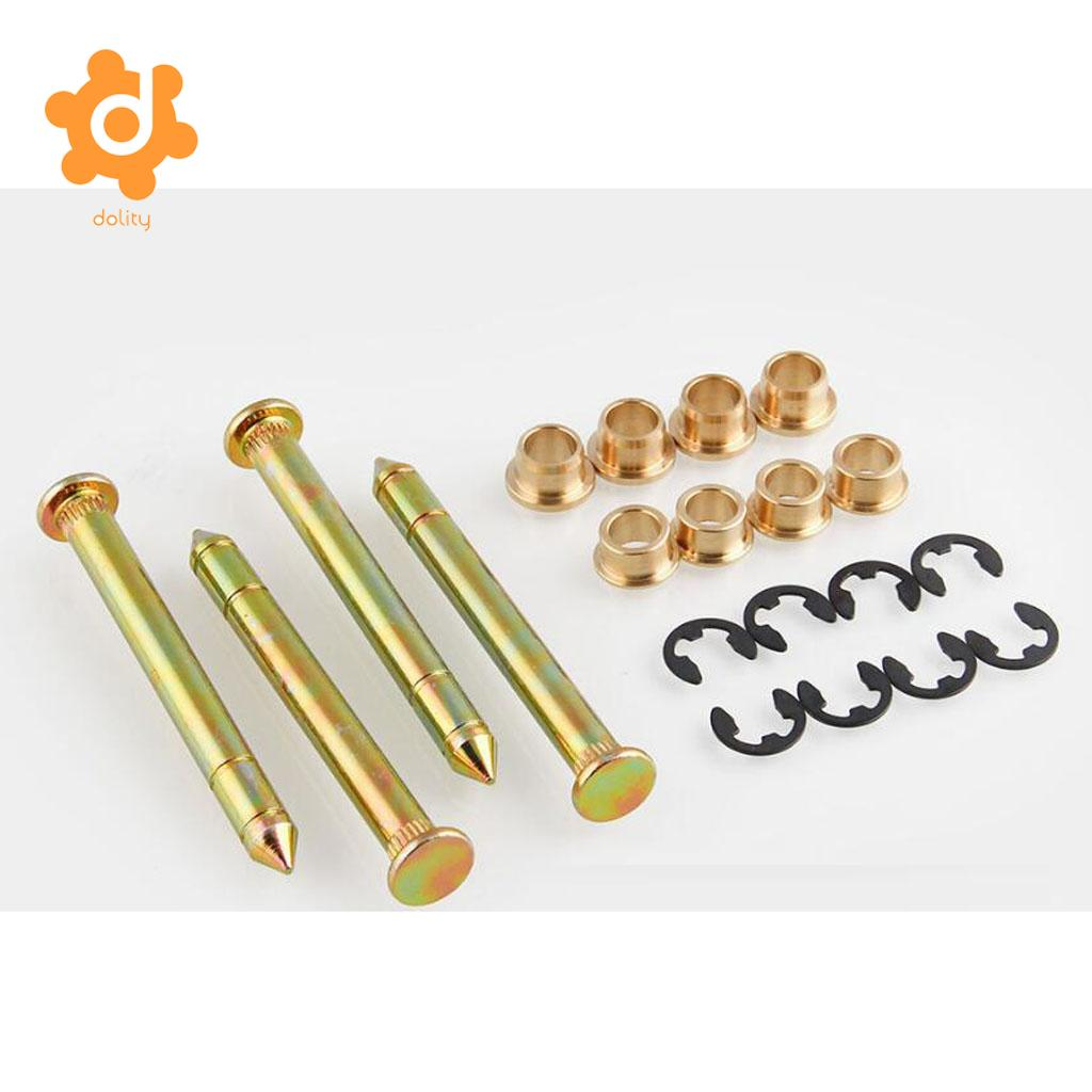 2 Sets Heavy Duty Door Hinge Pins Bushing Kit for Ford F-150 F-250 F-350