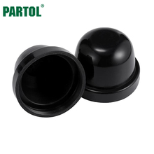 Partol HID LED Headlight Car Dust Cover Rubber Waterproof Dustproof Sealing Headlamp Cover Cap 65mm 70mm 75mm 85mm 100mm 105mm(China)