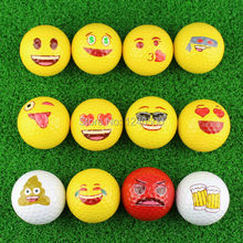 Free Shipping Beautiful Colorful Golf Ball Double Layer Practice Golf Ball Golf Gift Ball 3pcs/lot Wholesale(China)