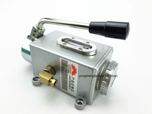 Buy 6mm,350cc Manual lubrication oil pump/hand operate oil lubricator/lubricating unit Y-6(1@6) centralized lubrication system