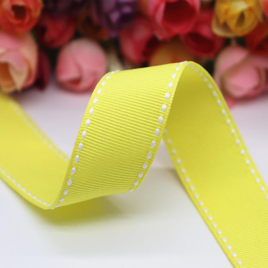 bordados 25/m dentadas litz viscosa Zig Zag Borte 5//9/mm muchos colores amarillo banda