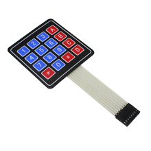 16 Chave Teclado Interruptor de Membrana 4x4 4x4 4*4 Matrix Matriz Teclado Matrix para arduino KIT DIY(China)