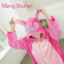 Mengshufen Onesie Pajamas Women With Chinese Market Online Cute Animal Winter Nightgown Sleepwear Costume Pyjamas 1207(China)