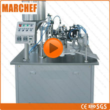 CE GMP ISO Automatic Plastic Aluminum Tube filling sealing machine