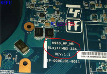 KEFU NEW !! FREE SHIPPING A1771575A MBX-224 M960 REV :1.1 NEW LAPTOP MOTHERBOARD FOR SONY VPCEB NOTEBOOK PC