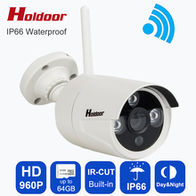 Holdoor Webcamera HD ip video camera wifi smallest wireless Camera mini CCTV cam with micro sd memory card slot Motion Sensor(China)