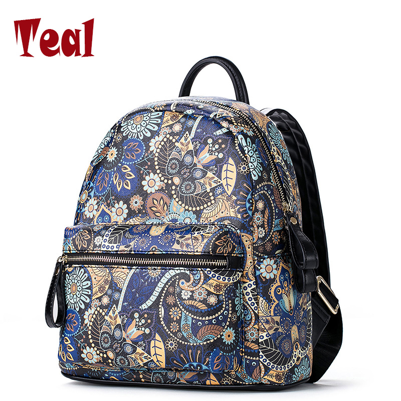 2018 hot sale women backpack Lovely cortton backpack leather women backpacks bags for teenager girls high quality backpacks<br>