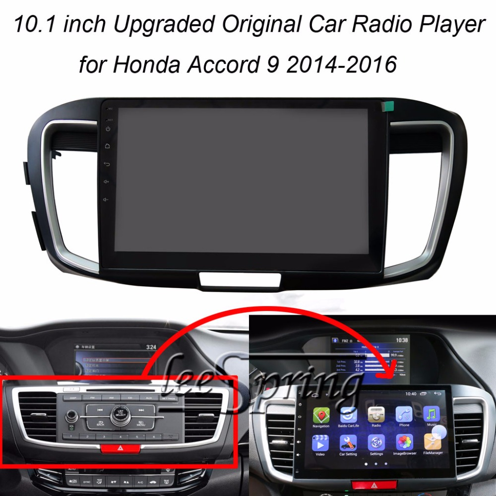 "10.2/"" Android 8.1 Car Gps Radio Navi stereo for Honda Accord 9th Gen 2013-2017"