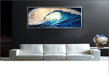 Original  Classic Metal Art Abstract  Wall Painting Unique  Blue-Silver Sculpture Indoor Outdoor Decor