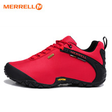 Original Merrell Women Breathable Camping Outdoor Sport Mesh Hiking Shoes For Red Waterproof Mountaineer Climbing Sneakers 36-40(China)