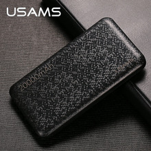 Buy Power bank xiaomi Mi,USAMS Mosaic Ultra Slim 20000mAh Powerbank iPhone 4 5 6 7 8 X SE Samsung Mobile Phone for $22.89 in AliExpress store
