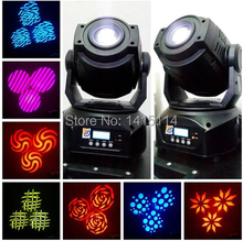 china market 4pcs/lot high quality 90w led gobo moving head stage light with fly case for dj lights