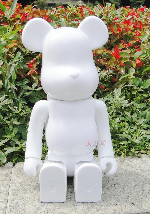 28 Cm DIY White Bearbrick Toys High Fashion Brand PVC Cute Cartoon Action Figures Fashion Office Gifts Juguetes Dj041<br><br>Aliexpress
