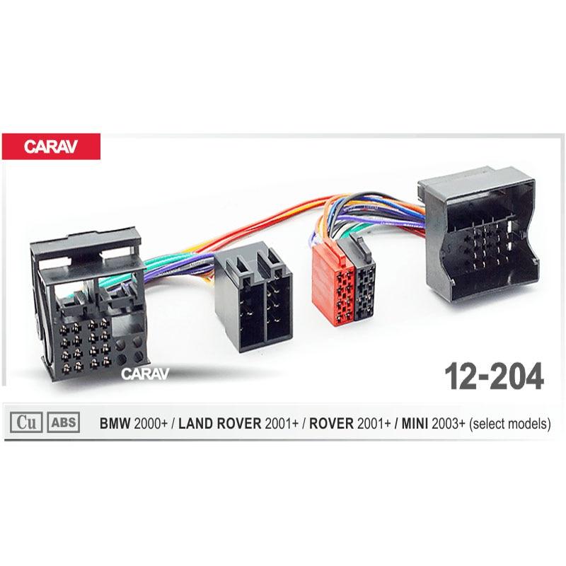MINI  2000/> ROVER CABLE ADAPTADOR CONECTOR RADIO FAKRA A ISO BMW LAND ROVER