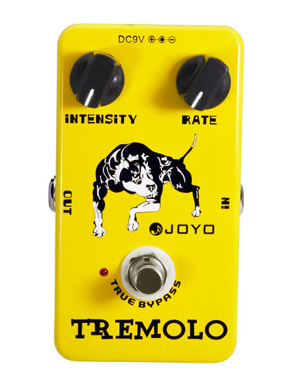 JOYO JF-09/Guitar Effect Pedal Tremolo, electric bass dynamic compression effects<br>