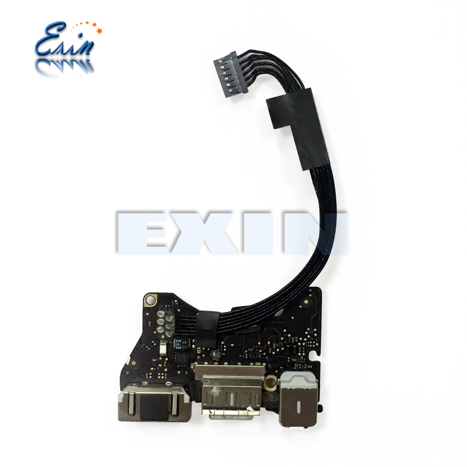 "GENUINE MACBOOK AIR 13/"" A1466 USB// POWER DC JACK AUDIO BOARD 2013 2014 2015"