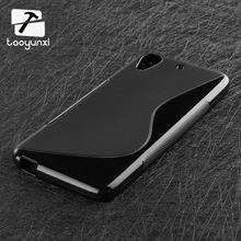 Soft S-Line Wave TPU Gel Cover Case Skin For HTC Desire 626 650 628 A32 626w 626D 626G 626S cell phone Back cases hood Shell