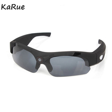 KaRue KW20B HD 1080P Sunglasses Mini Camcorder Eyewear Video Recorder Wide angle 120 degrees Sports Glasses Support TF Card(China)
