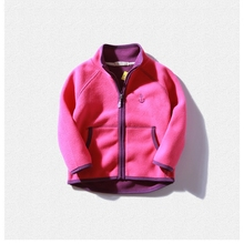 Kids Fleece Jacket for Boy and Girl Fleece Jackets Autumn Children Girls Cardigan Cashmere Sweater Outdoor Hoodies Coat Winter(China)