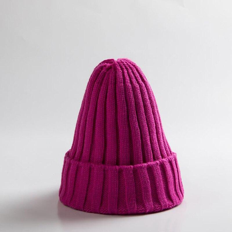 Knitted Kids Beanie Cap Infant Newborn Baby Boy Girl Hat Warm Childrenx Baby Autumn Winter Girls Hat For Kids Toddler Bonnet Cap 7