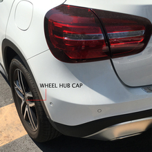 4PCS 3 Color 75MM Car Wheel Sticker Wheel Center Cap Emblems Logo Rim Cover For Mercedes Benz W202 W210 AMG GLA GLC Car-stling(China)