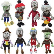 Plants VS Zombies Gargantuar Zombie PVZ Plush Toys Soft Stuffed Dolls Cosplay Toy Doll for Kids Children Gifts Collection 30CM(China)