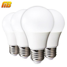 Ming&Ben 4pcs LED Bulb E27 230V Lampada LED High Brightness 3W 5W 7W 9W 12W 15W With Safe Packing Smart IC Lampada Bombillas MB