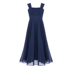 Elegant Girls Dress For Weddings Long Tulle Evening Party Dresses teenage kids Frock designs Prom Gown For 8 10 12 14 16 18 Yrs