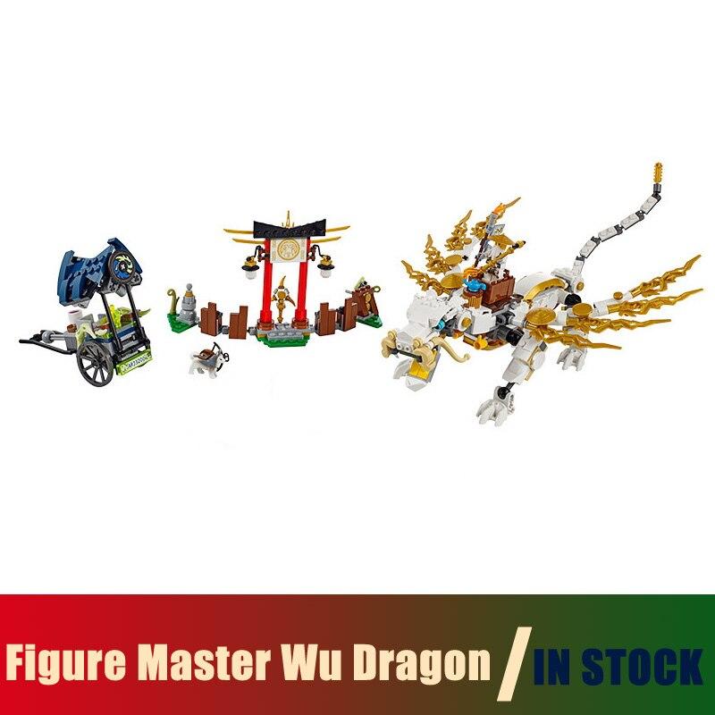 Compatible Lego Ninjago 70734 Models Building Toy Ninjago Figure Master Wu Dragon 06016 Building Blocks Toys &amp; Hobbies<br>