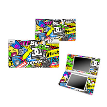 Colorful Vinyl Skin Sticker Protector For Nintendo DSI For NDSI Skins Stickers PVC Material(China)