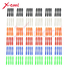 Free Shipping Wholesale 36set=144pcs Hubsan X4 H107C H107L H107D Blade Propellers Parts for RC Quadcopter Helicopter - 6 Colors