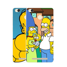 Xiaomi redmi 4x Case,Silicon Popular Cartoon Painting Soft TPU  Back Cover for Xiaomi redmi4x Phone protect Bags shell