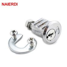 12PCS NAIERDI-103 Ribs Cam Lock Door Cabinet Special Mailbox Cupboard Home Locker 20mm Length Furniture Hardware With Iron Keys(China)
