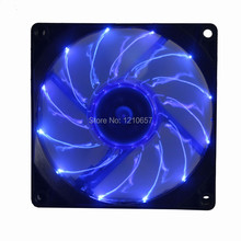 5PCS Lot Gdstime 9225 12v 3Pin 90MM 9cm 92mm x 25mm DC Blue LED Cooling Fan 3800Rpm