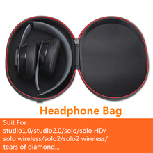 Replacement Headphone Carrying Case For Beats Monster by Dr.Dre Studio, Studio Wireless, Studio 2.0, Solo Wireless, Solo HD
