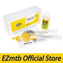 free shipping EZmtb Bleed Kit for AVID SRAM FORMULA DB5, Guide, R, RS, Ultimate, XX, X0, Level(China)