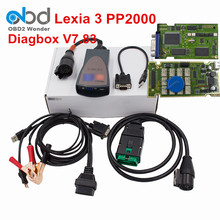 2017 Diagbox V7.83 Full Chip Lexia 3 PP2000 Full Funtion Lexia3 Lexia-3 PP2000 For Citroen Diagnostic Scanner Tool Free Shipping