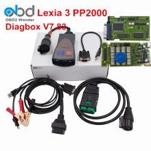 2017 Full Chip Lexia 3 Diagbox V7.83 PP2000 Full Funtion Lexia3 Lexia-3 PP2000 For Citroen Diagnostic Scanner Tool Free Shipping(China)
