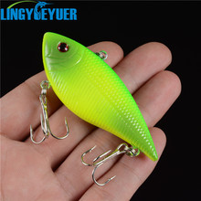 1pcs/lot plastic fishing lures fishing bait minnow bass Floating lure fishing tackle Hooks 7.1CM/11.2g