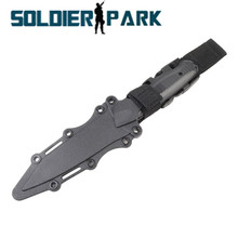 Outdoor Military Airsoft US Army AC-6019 Dummy Knife Combat CS Decoration Dummy Props Plastic Model Knife for Stage Show Cosplay
