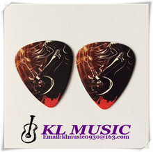 Good quality different thickness plectrums colorful guitar picks