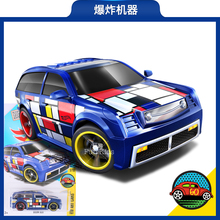 2016 New Hot Wheels small sports car 6L explosion machine model toy car 027 alloy