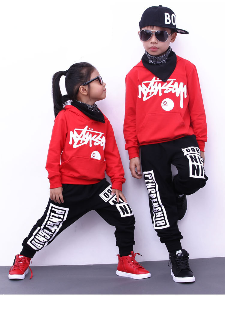 boys hoodie and pant sets 1039-17