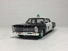 "Greenlight 1:64 1967 Ford Custom ""STATE POLICE N.J""Diecast car model"