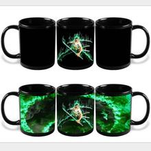 New Version ONE PIECE Color Changing Mug Roronoa Zoro Colour Change Coffee Mug