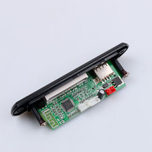 2016 New arrival Wireless Bluetooth 12V MP3 WMA Decoder Board Audio Module USB TF Radio For Car accessories